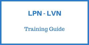 lpn training guide