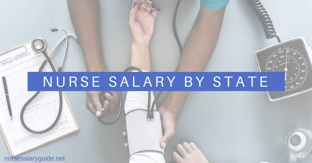nursing salaries by state