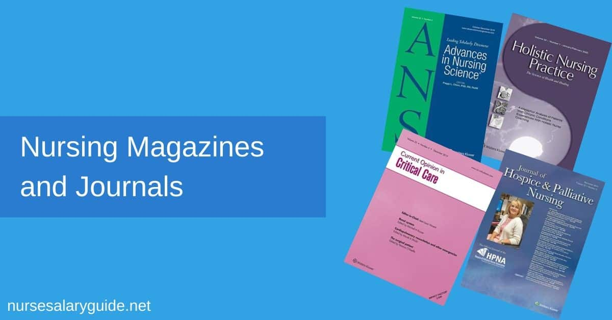 nursing magazines and journals