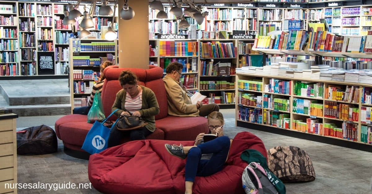 bookstores place to study