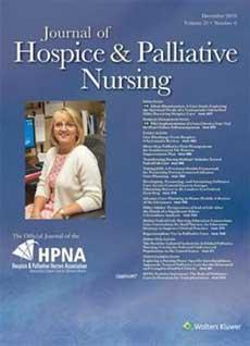 hospice nursing journal