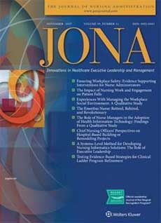 nursing administration journal