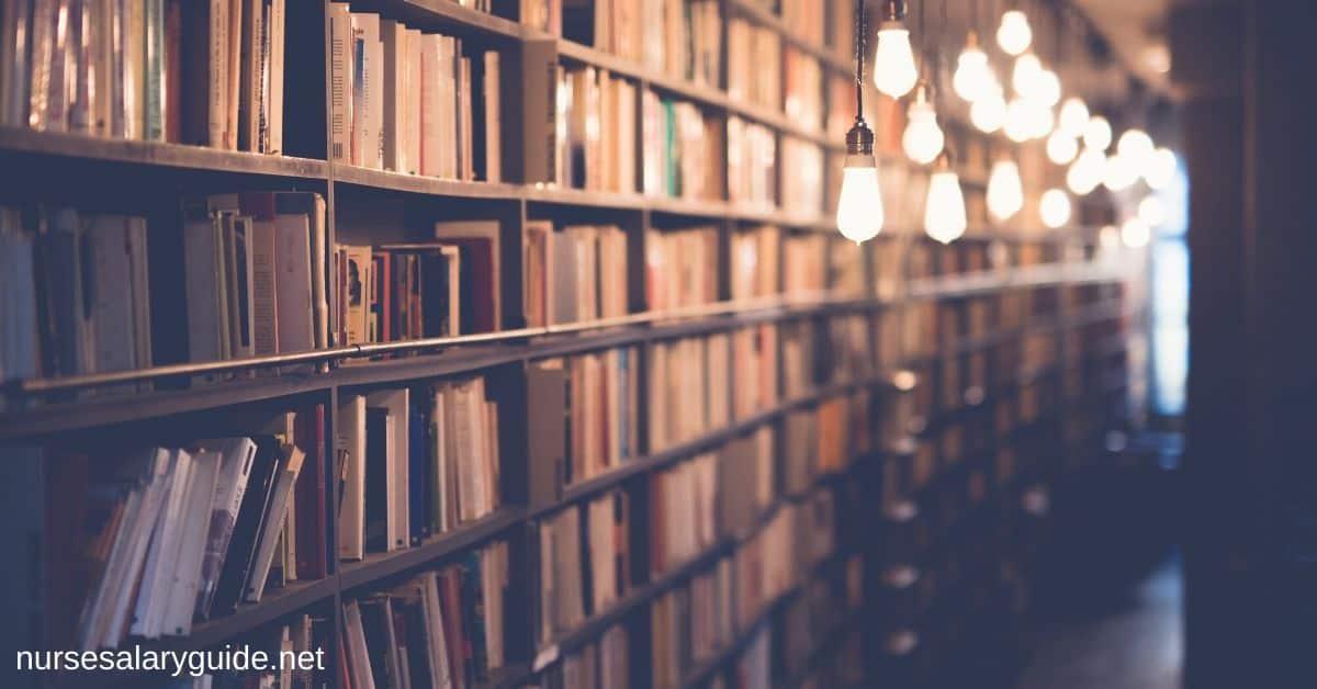 study at library