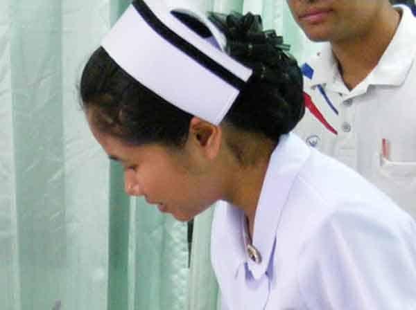 nurses symbol cap