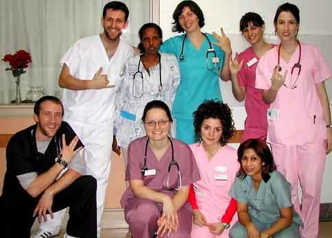 nurse scrubs symbols