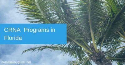CRNA Schools and Programs in Florida FL